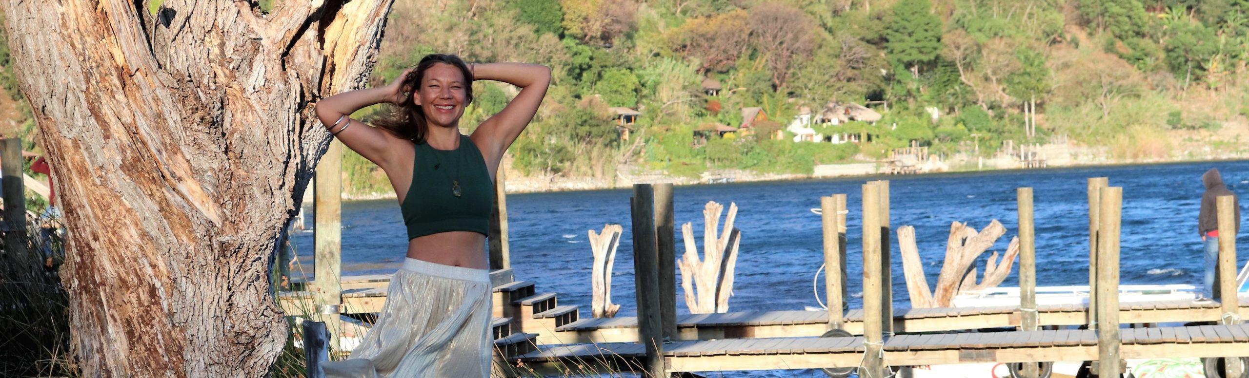 Melanie Wenzel @ Lago di Atitlan, Guatemala